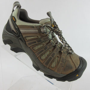 Keen Utility Flint Low Steel Toe Hiking Work Shoes